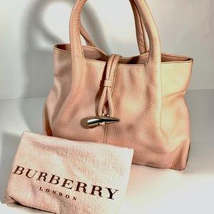 Burberry Pink leather Haymarket